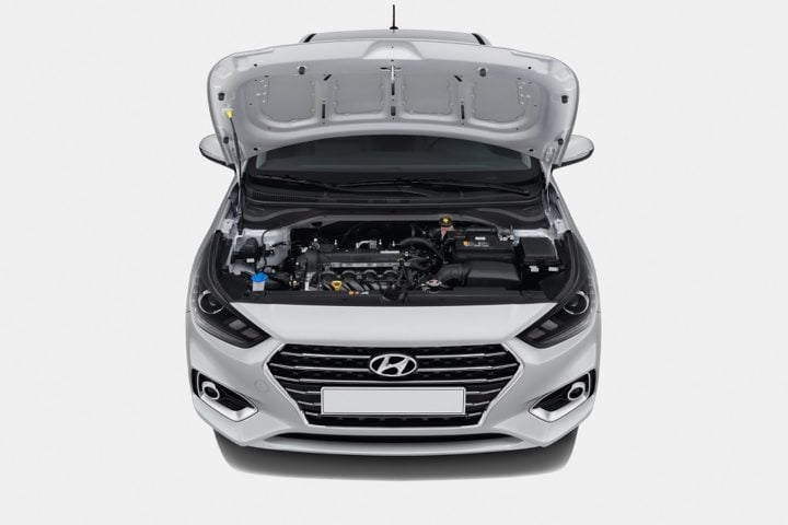 new look hyundai verna engine