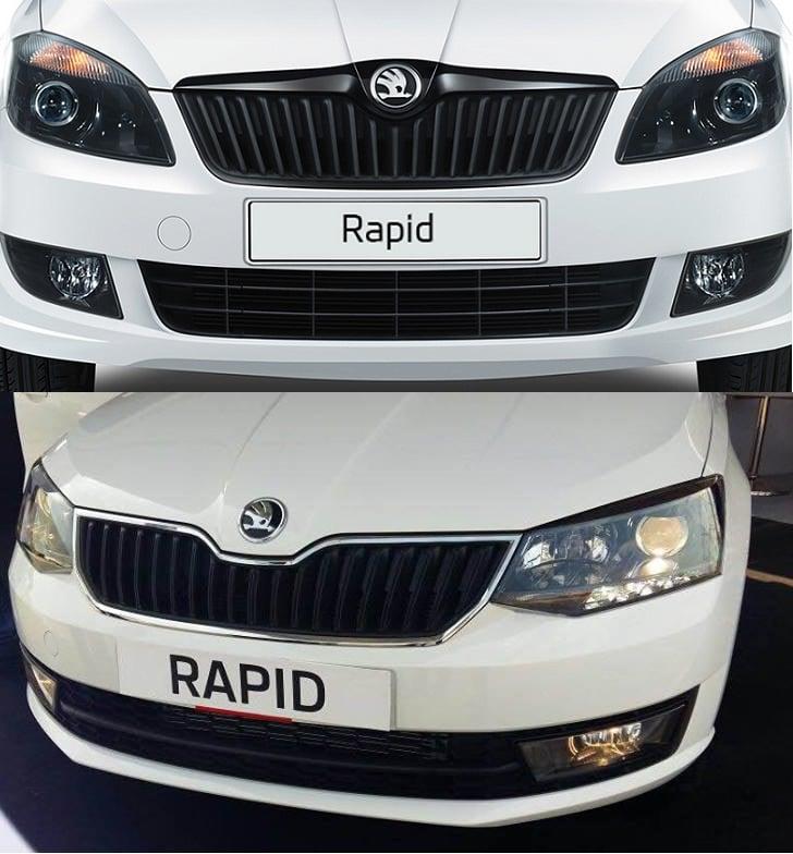 Skoda Rapid Old vs New Model Price, Specifications, Feature Comparison skoda-rapid-old-vs-new