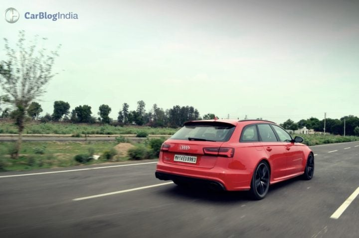 Audi RS6 Avant Review images