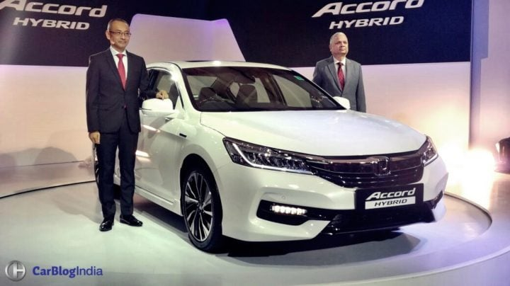 New Honda Accord 2016 India Price- 37 lakh >> Specs, Mileage, Interior honda-accord-hybrid-front-launch