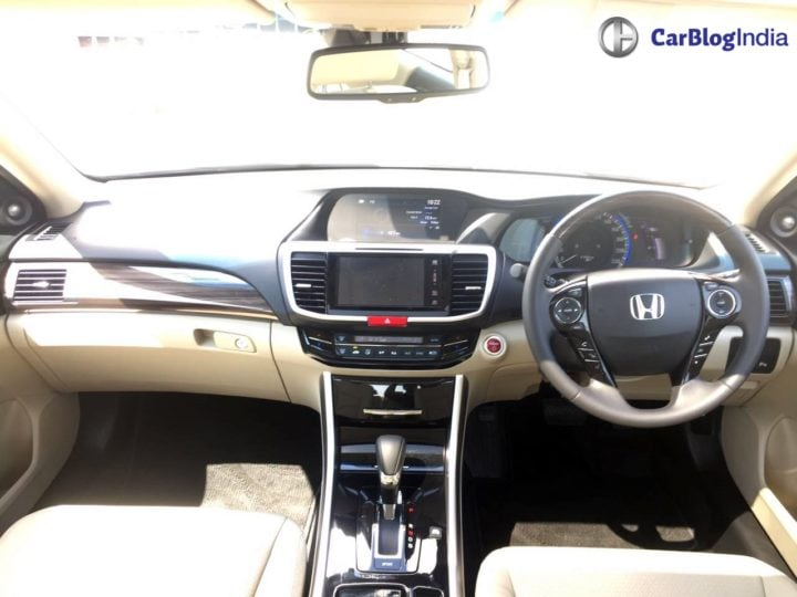 New Honda Accord 2016 India Price- 37 lakh >> Specs, Mileage, Interior honda-accord-hybrid-interior