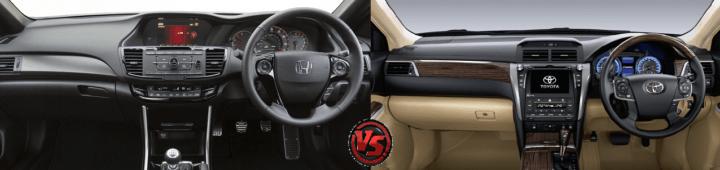 honda accord hybrid vs toyota camry hybrid images