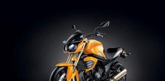 mahindra-mojo-sunburst-yellow-colour-official-image