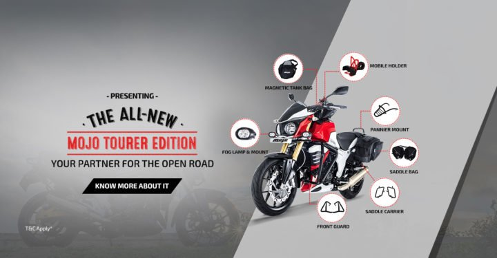 Mahindra Mojo Tourer Edition Price Rs 1.89 lakh; Features, Specifications mahindra-mojo-tourer-edition-official-images-features