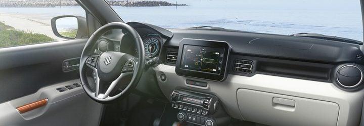 maruti ignis interior dashboard