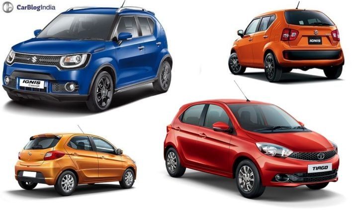 Maruti Ignis vs Tata Tiago Comparison Price, Specs, Features maruti-ignis-vs-tata-tiago