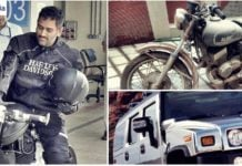 ms dhoni cars bikes collection