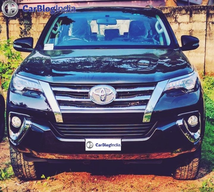 new model toyota fortuner 2016 spy image kerela