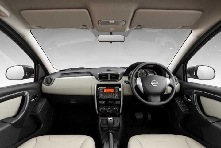 Nissan Terrano AMT Automatic Price, Specifications, Mileage nissan-terrano-amt-automatic-interiors