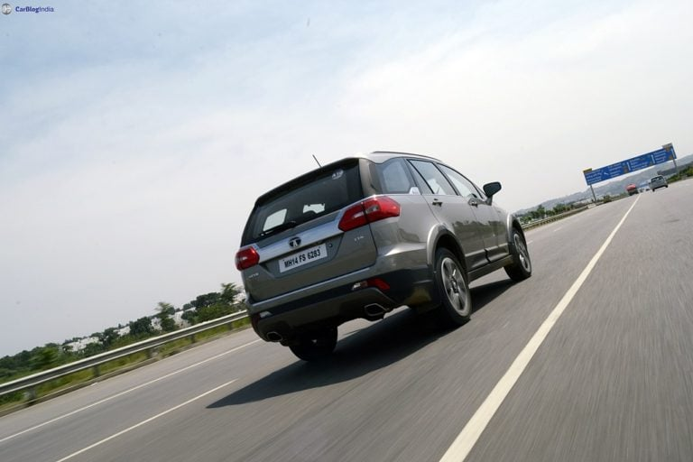 BS6 Tata Hexa Might Be Launched Later This Year