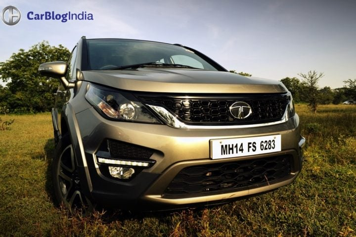 tata hexa test drive review images opening shot