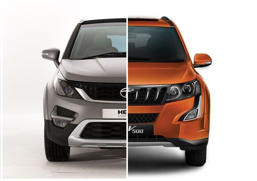 Tata Hexa vs Mahindra XUV500 Comparison of Price, Specs