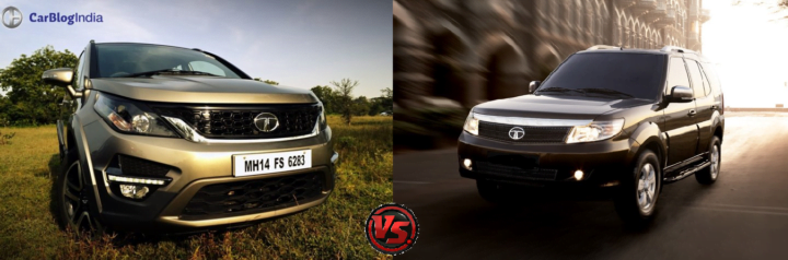 tata hexa vs tata safari storme comparison images 1