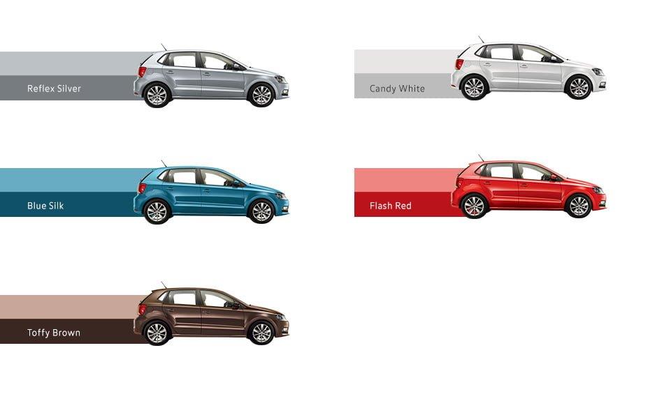 Volkswagen Polo Allstar Special Edition Launch October 2016, Price 7 lakh volkswagen-polo-allstar-edition-colours