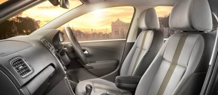 Volkswagen Polo Allstar Special Edition Launch October 2016, Price 7 lakh volkswagen-polo-allstar-edition-interiors