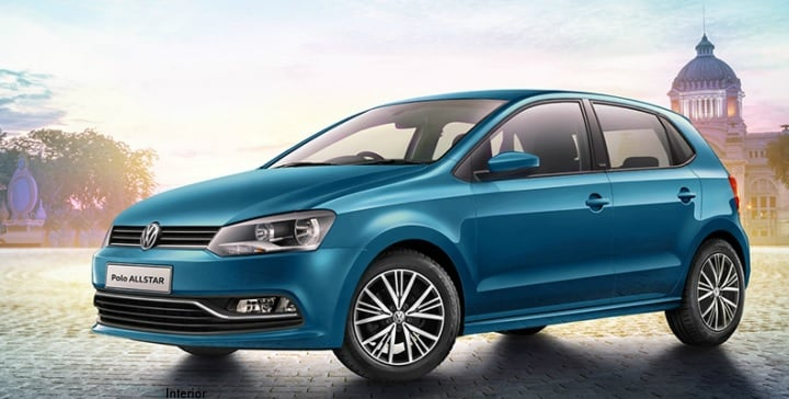 Volkswagen Polo Allstar Special Edition Launch October 2016, Price 7 lakh volkswagen-polo-allstar-edition-official-image