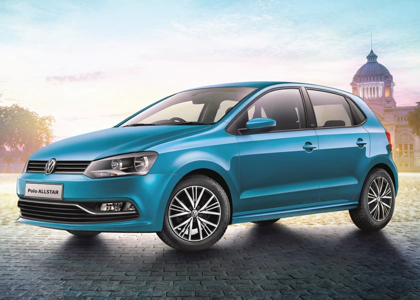 volkswagen polo allstar special edition launched price lakh. Black Bedroom Furniture Sets. Home Design Ideas