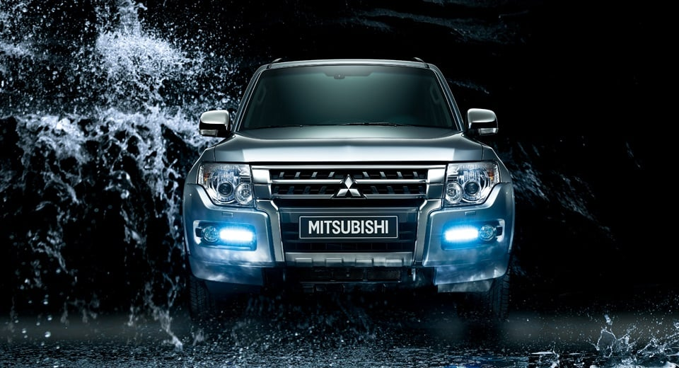 Mitsubishi Montero India Official Images Front