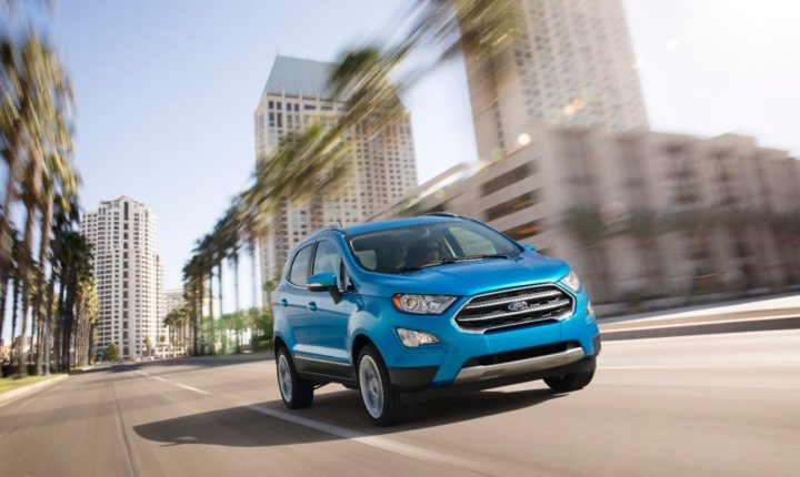 2017 ford ecosport india images - action-images