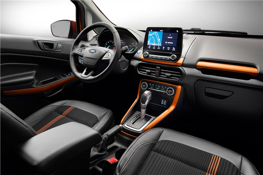 2017 ford ecosport india images interior 2 & Ford EcoSport Platinum Edition Price Rs 10.39 lakh; Features Specs markmcfarlin.com