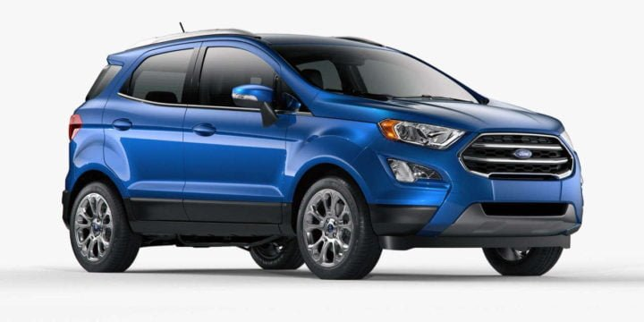 Upcoming Cars Under 15 Lakhs - Ford EcoSport