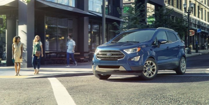 Upcoming Small SUVs in India 2017 ford ecosport facelift