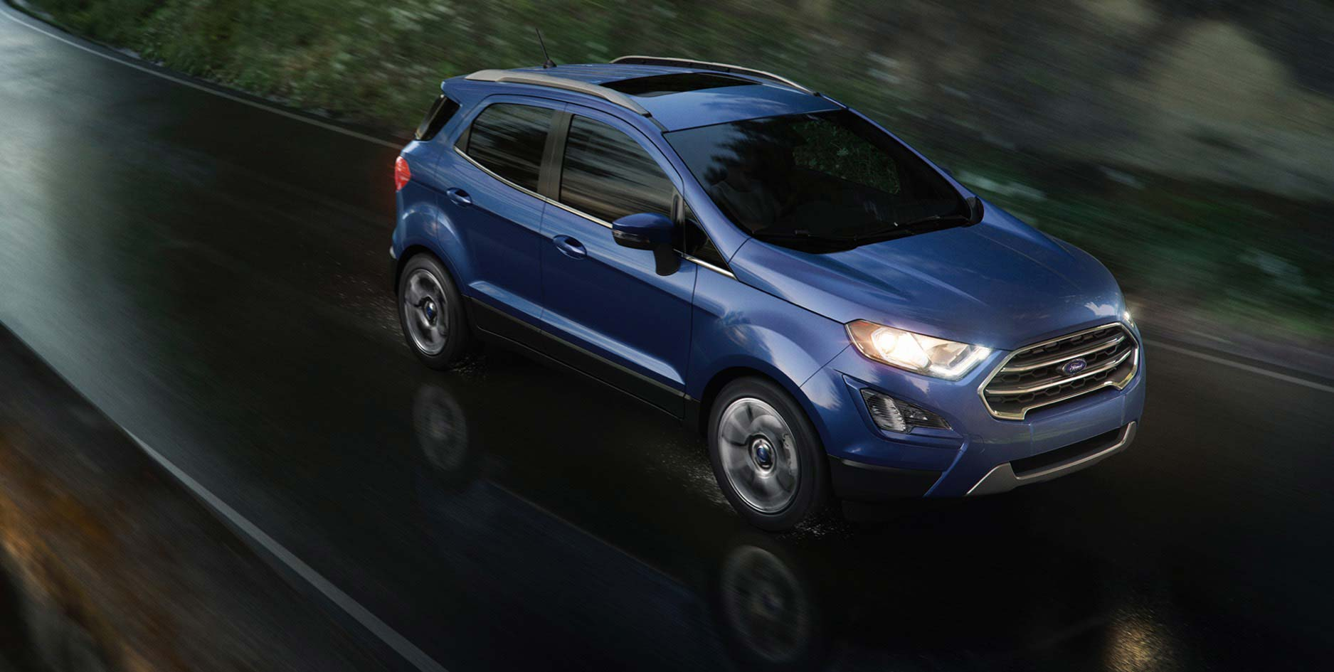 Ford Ecosport Facelift Usa Official Images