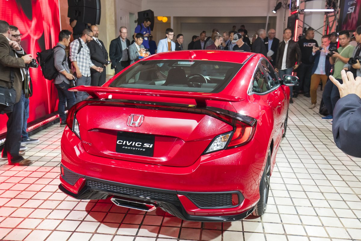 2017 Honda Civic Si Specs Launch Interior Images 2016