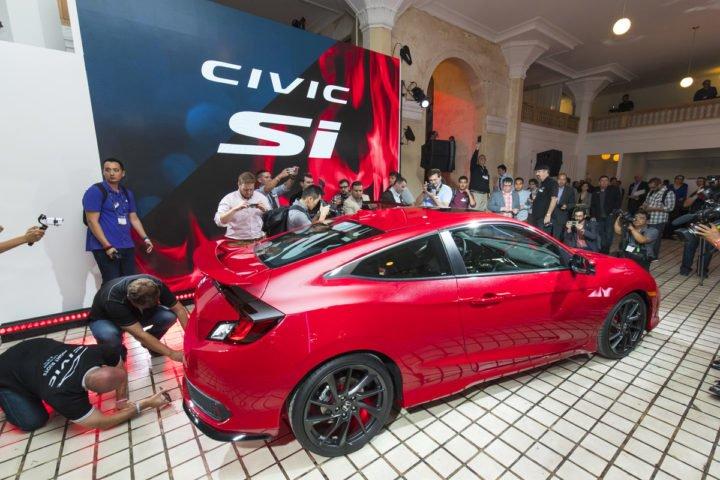 2017 Honda Civic Si Coupe Prototype