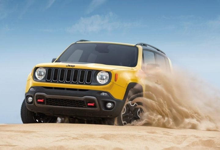 Upcoming SUV cars Under 15 Lakhs - Jeep Renegade