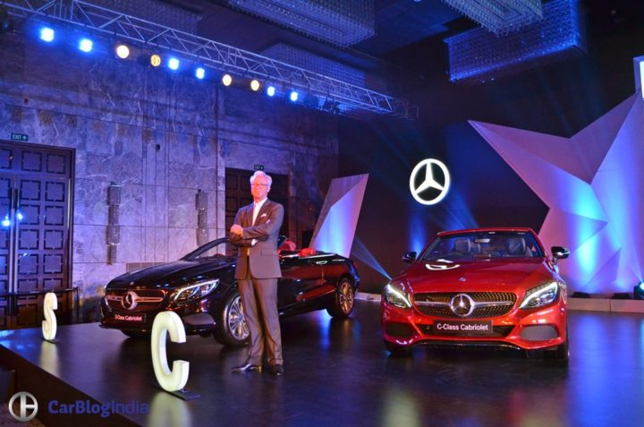 Mercedes C Class Cabriolet India Price Rs 60 lakh; Specifications, Images 2017-mercedes-benz-c-class-s-class-cabriolet-india-launch
