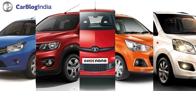 Cheapest Automatic Cars in India [Top 5]