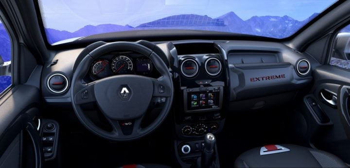 renault duster extreme concept interior images