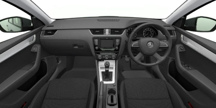 skoda octavia black edition interior images 2