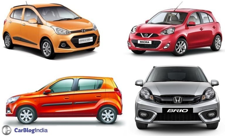 Automatic Hatchback Cars in India Below 7 lakhs