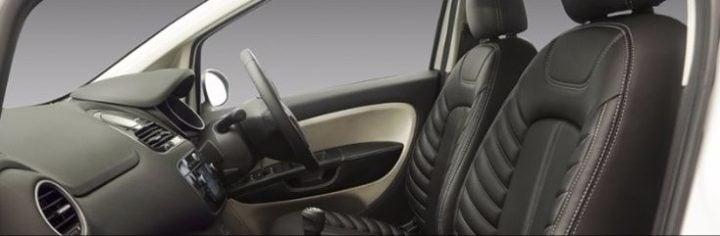 fiat punto karbon edition interior images