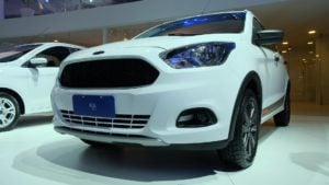 ford ka trail (ford figo concept) sao paulo images