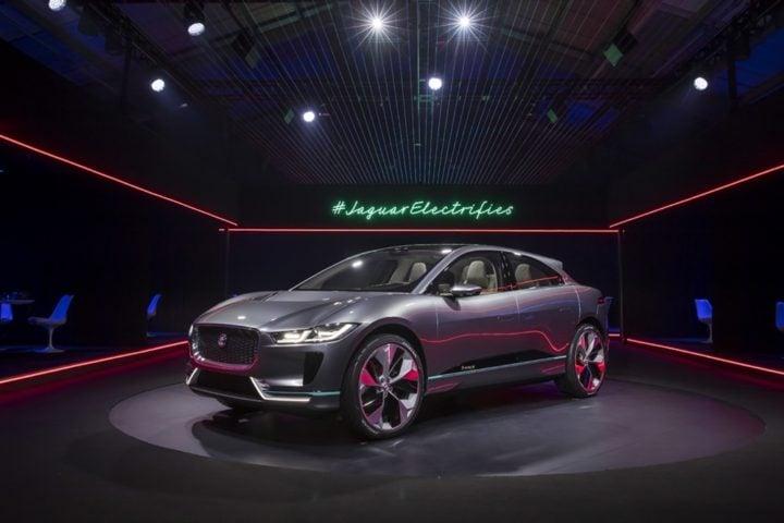 jaguar i-pace concept electric suv la auto show images