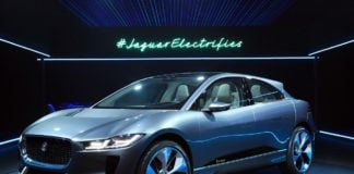 jaguar i pace concept electric suv la auto show images