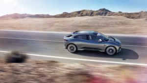 jaguar i pace concept suv action image side profile