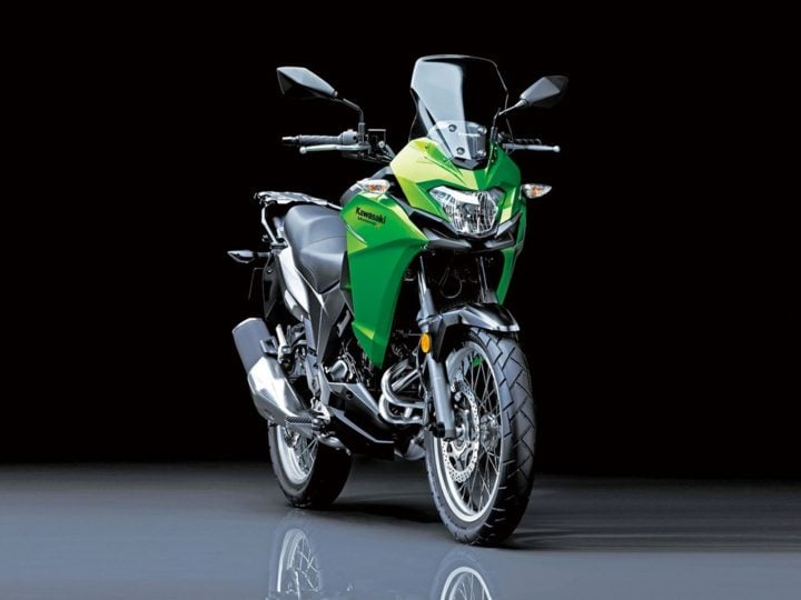 2017 Kawasaki Versys X 300 India Launch, Price, Images, Specifications kawasaki-versys-x300-official-images-green
