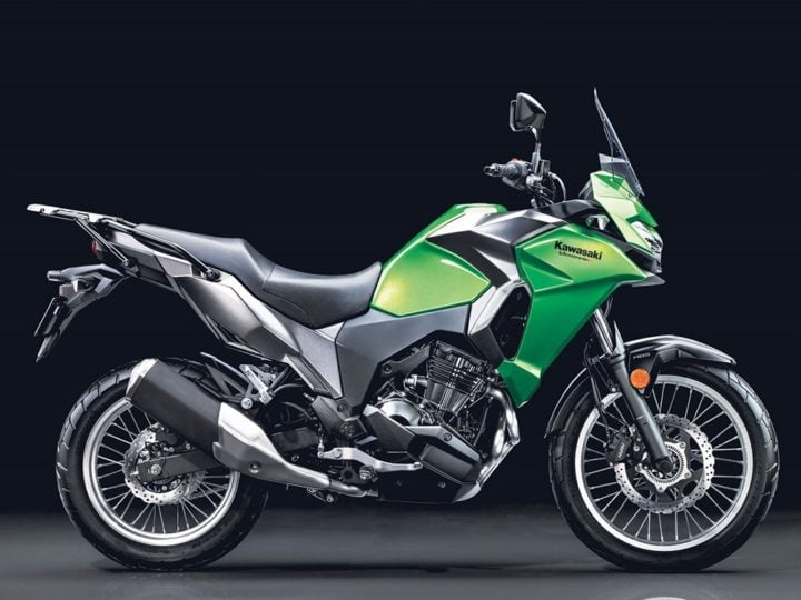 2017 Kawasaki Versys X300 India Launch, Price, Images, Specifications kawasaki-versys-x300-official-images-side-green