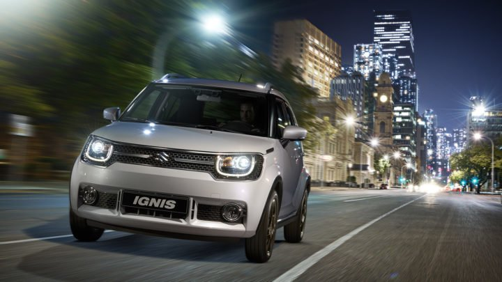 maruti suzuki ignis price - official launch image