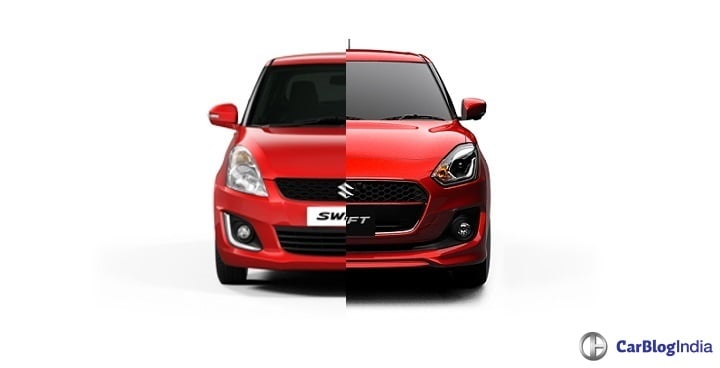 2018 Maruti Swift Vs Old Model Specification Comparison Report