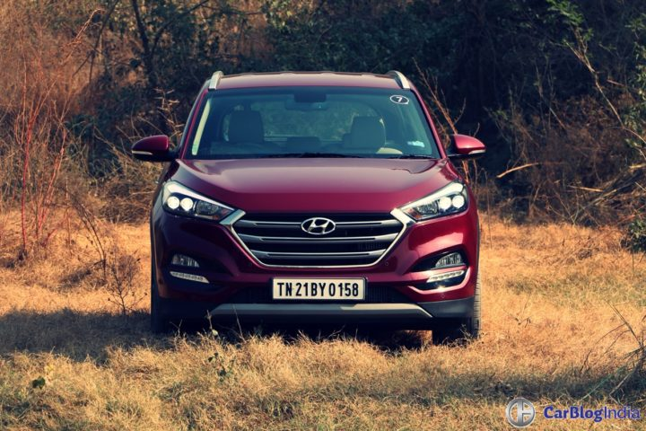 new hyundai tucson test drive review images
