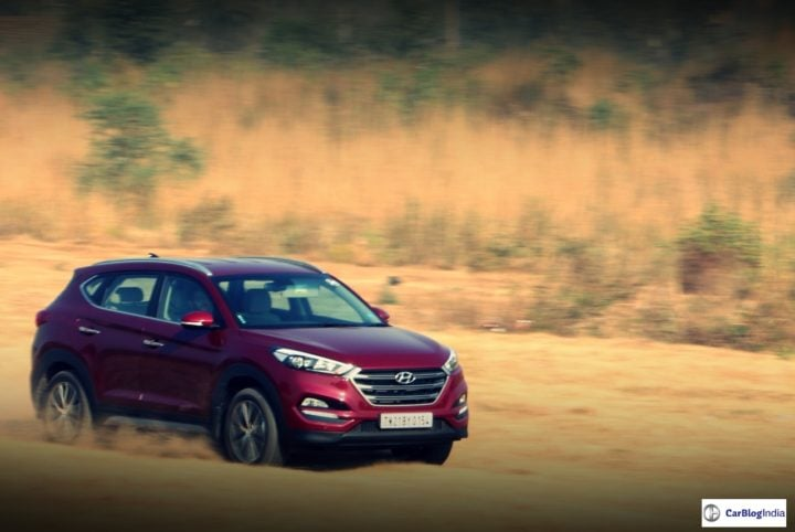 Best Mileage Automatic Cars - Hyundai Tucson Diesel Automatic