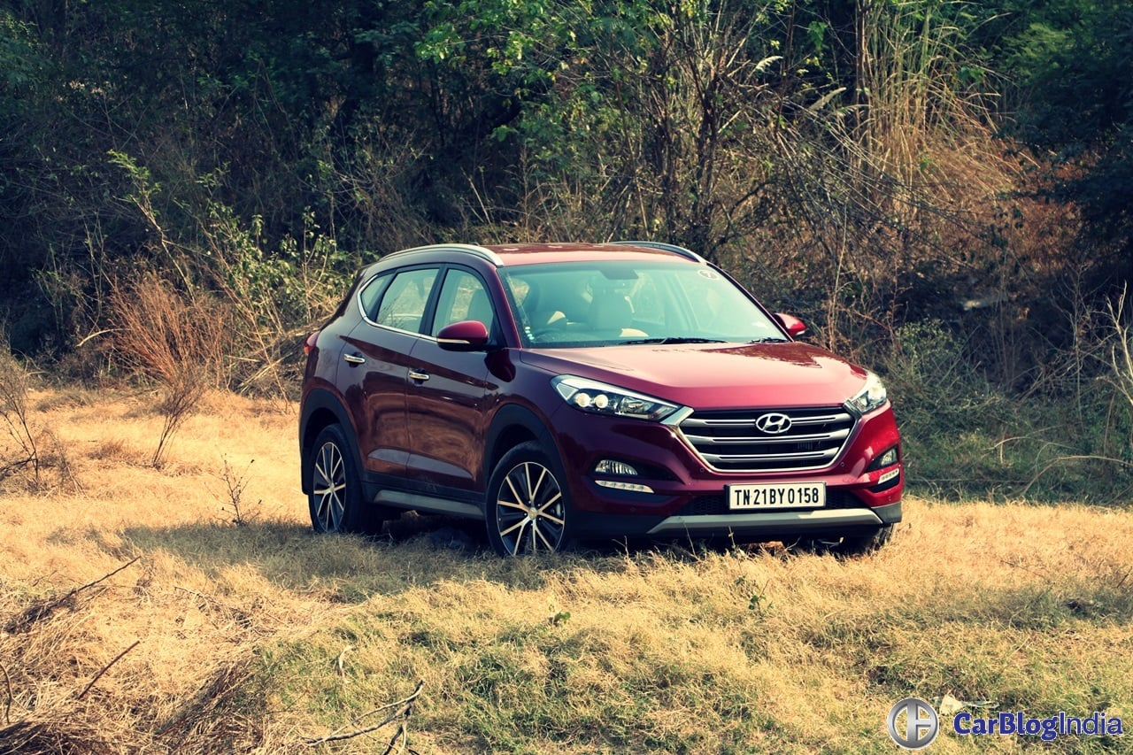 New Hyundai Tucson Test Drive Review with Specifications and Images