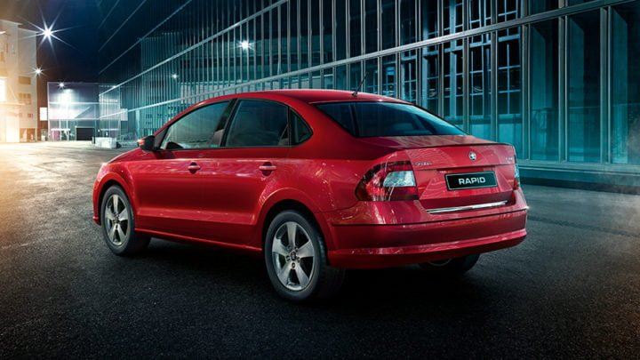 new-skoda-rapid-official-image-rear-angle-red