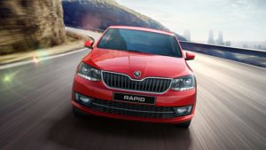 new-skoda-rapid-official-image-red-front-motion