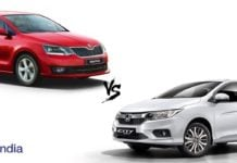 new skoda rapid vs honda city